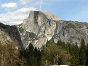 It's hard to beat the image of Half Dome at Yosemite