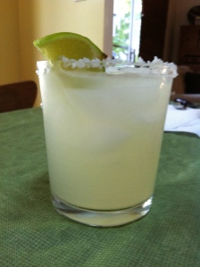The Rex Margarita. On the rocks, of course.