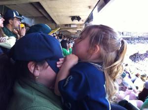 It's best my wife didn't see the Mariners blow it.