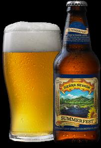 Sierra Nevada Summerfest Lager. My Drink Of The Weekend