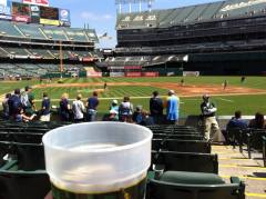 First pitch. An $11 Smithwick's in hand.