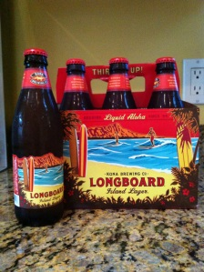 Longboard Lager...Liquid Aloha