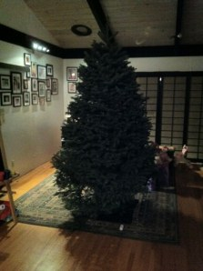 Day 2: As you can see, little decorating progress was made