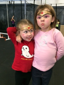 A couple of Wonder Women