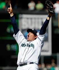 Sadly, I won't be seeing King Felix doing any of this today.