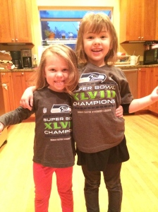 I'm getting them started early on Seahawks Fandom