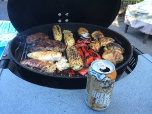 We had quite the grill going the other night.