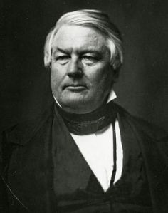 Millard Fillmore. Our 13th President, the last Whig President and...Yeah, you've forgotten about him already, too.
