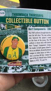 "Ladies and Gentlemen...Bert ""Campy"" Campaneris"
