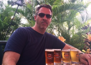 My daughters wanted the pool...I got the Kona Brewing Co. sampler.